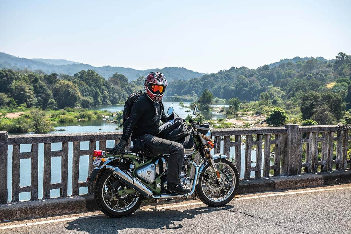 motorcycle tour south india