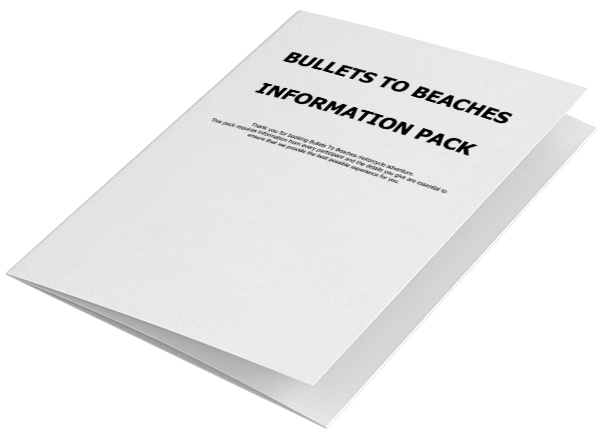 Bullets to Beaches info pack