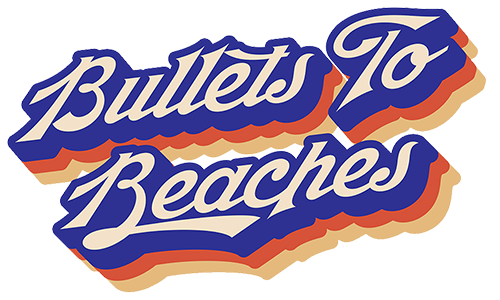Bullets to Beaches Logo