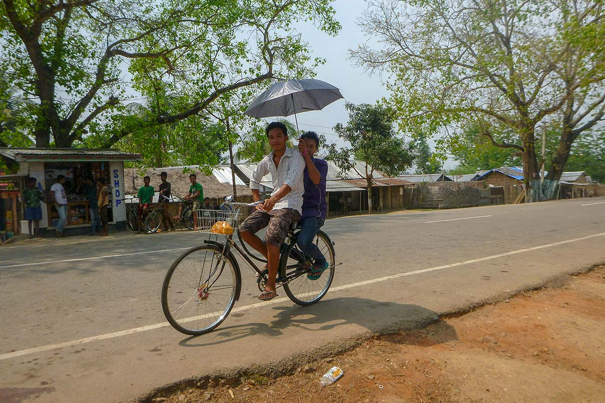 india bicycle ride