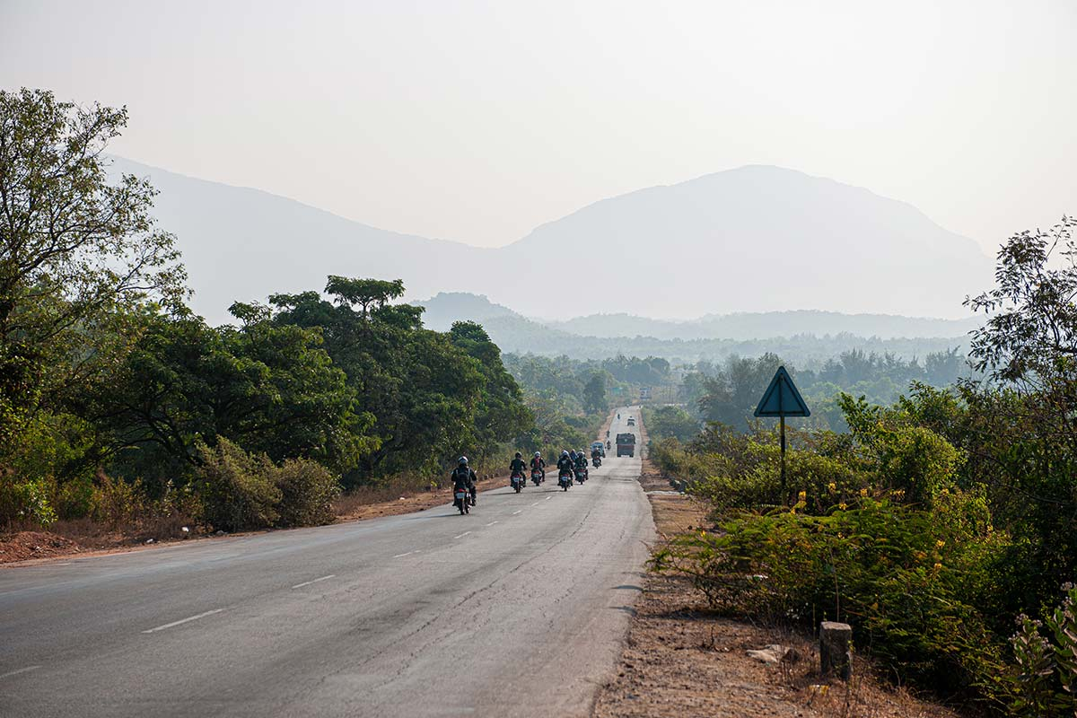 motorbike trip india