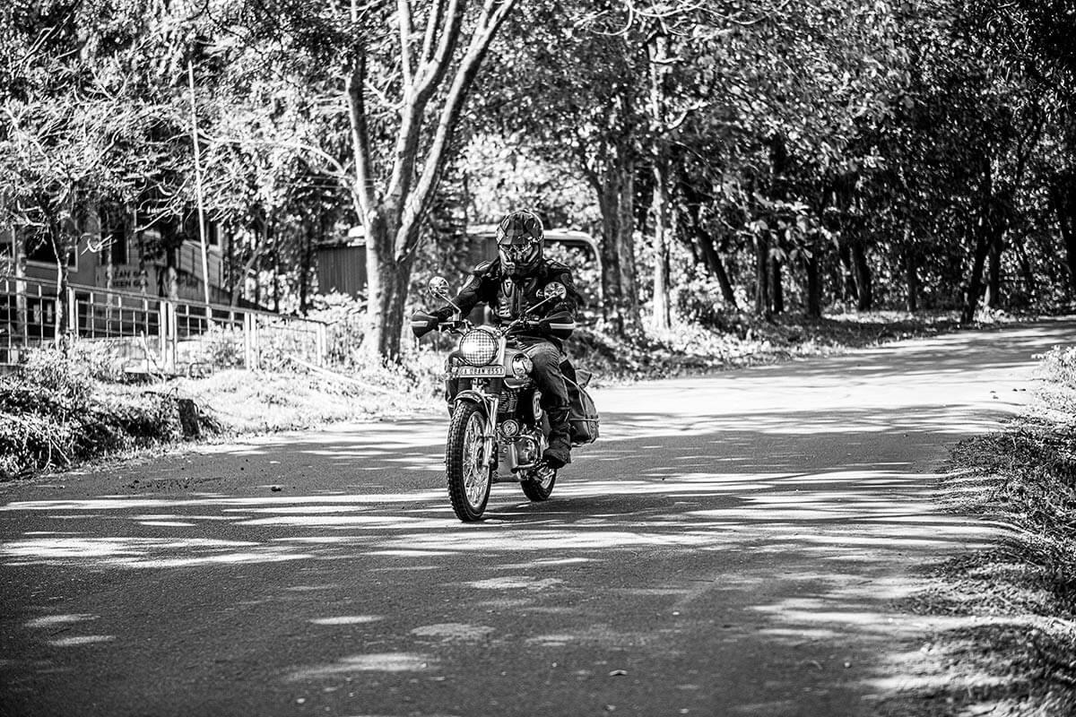 motorbike tour india