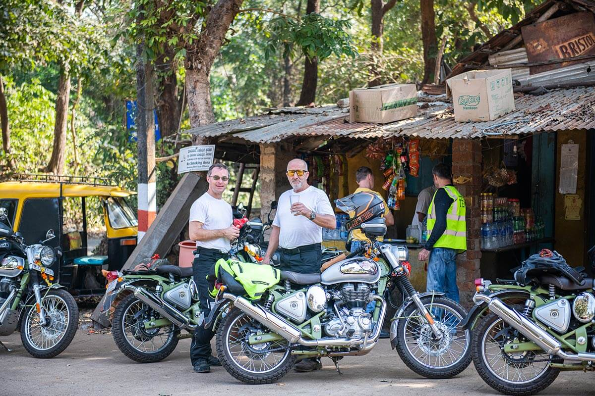 motorbike tour south india