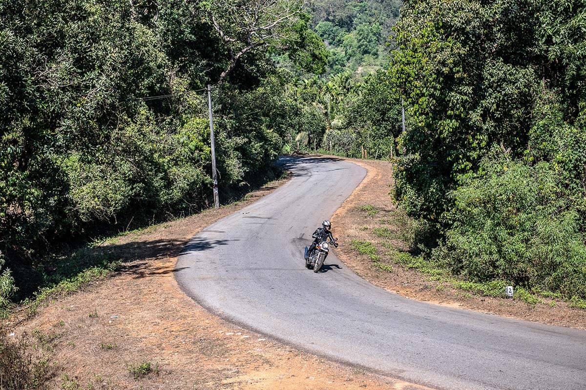 motorbike trip south india