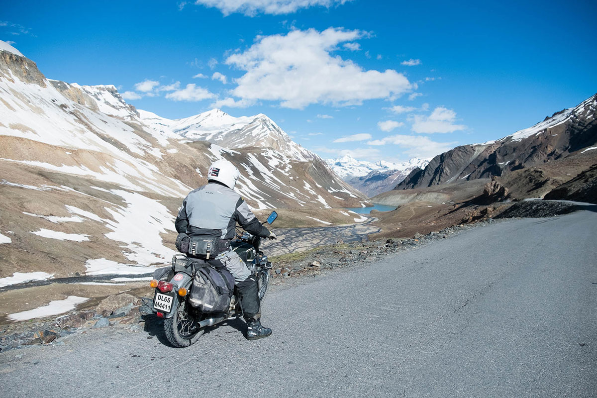 motorcycle adventure in himalayas