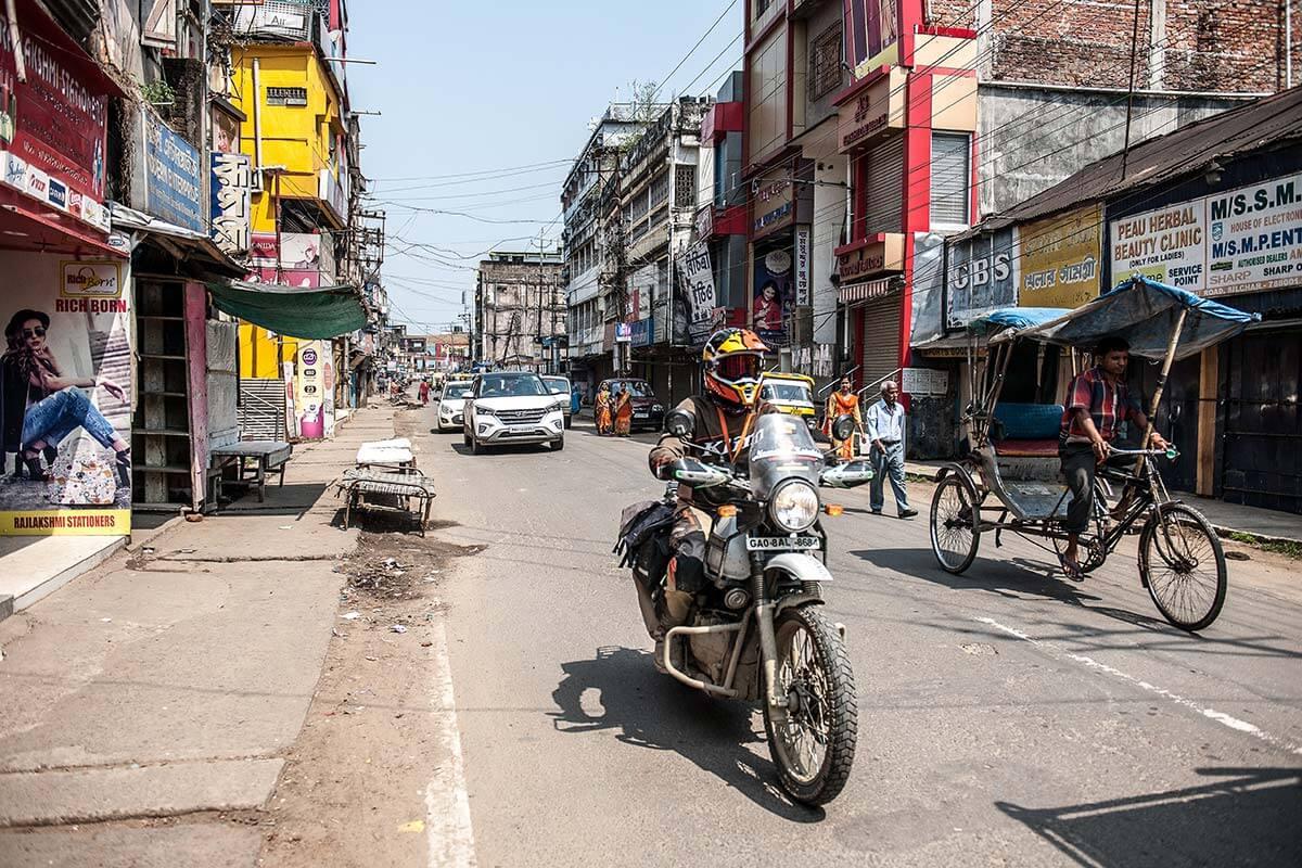 north india motorbike trip