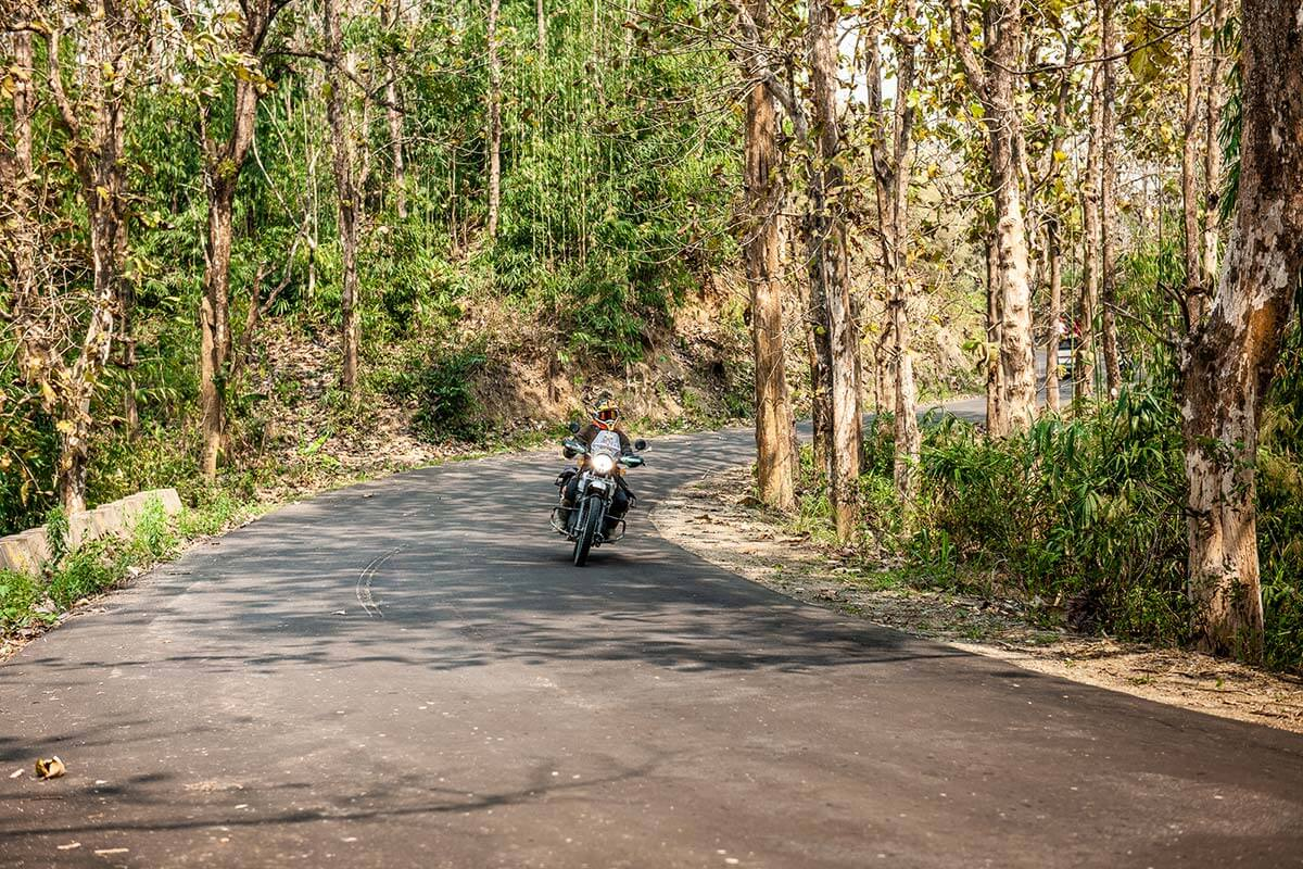 motorcycle tour north india