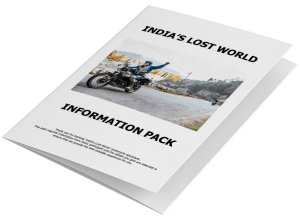 India's Lost World info pack