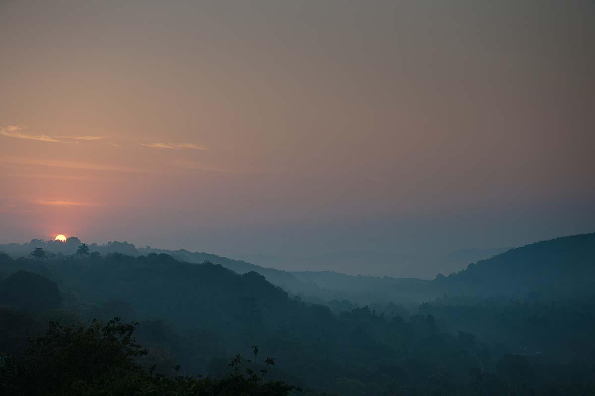south india sunset