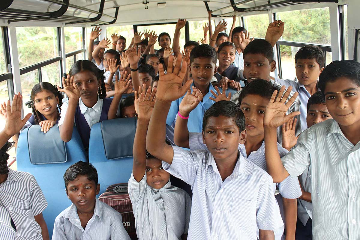 adventure ashram school bus project