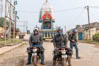 men on motorcycles on motorcycle tour in north east india