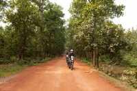 Man on north india motorbike trip
