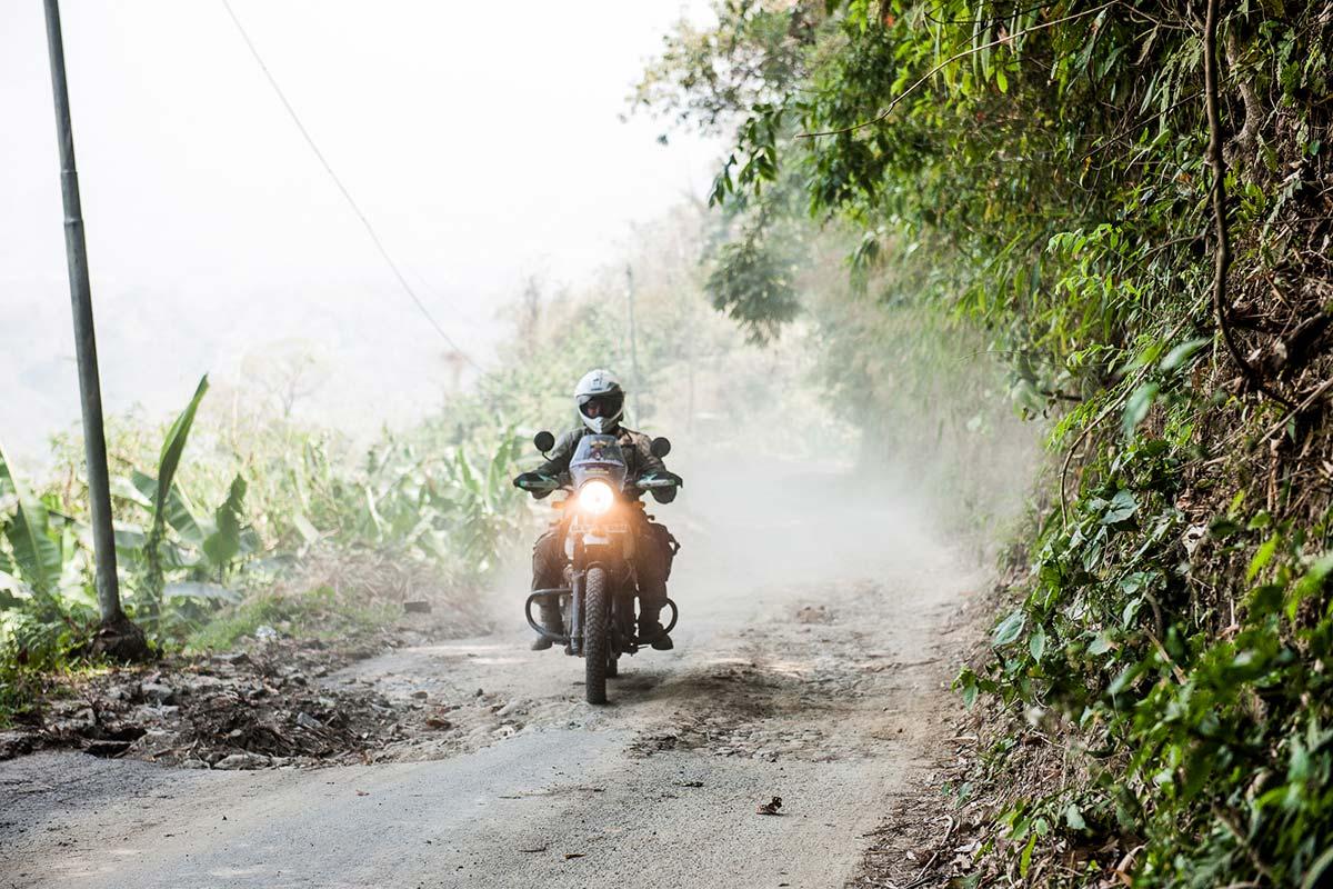 motorbike tour northeast india