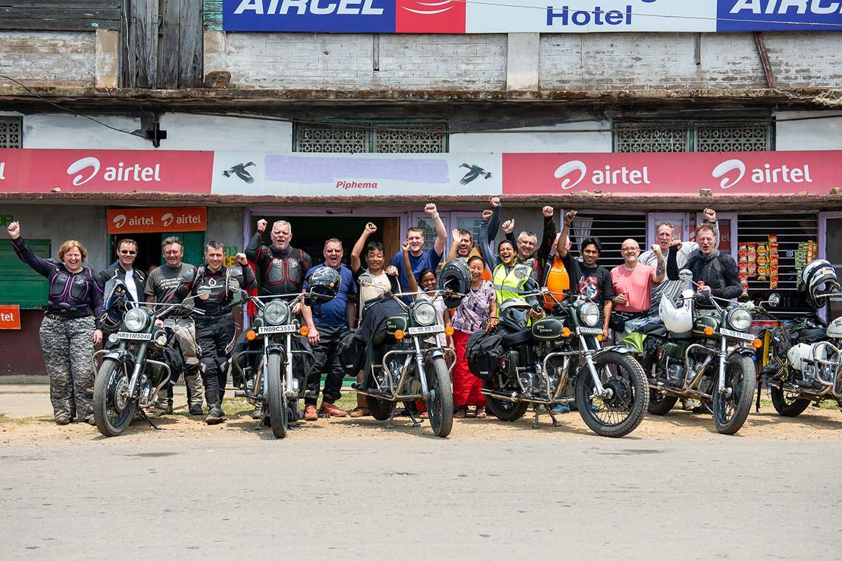motorcycle adventurers