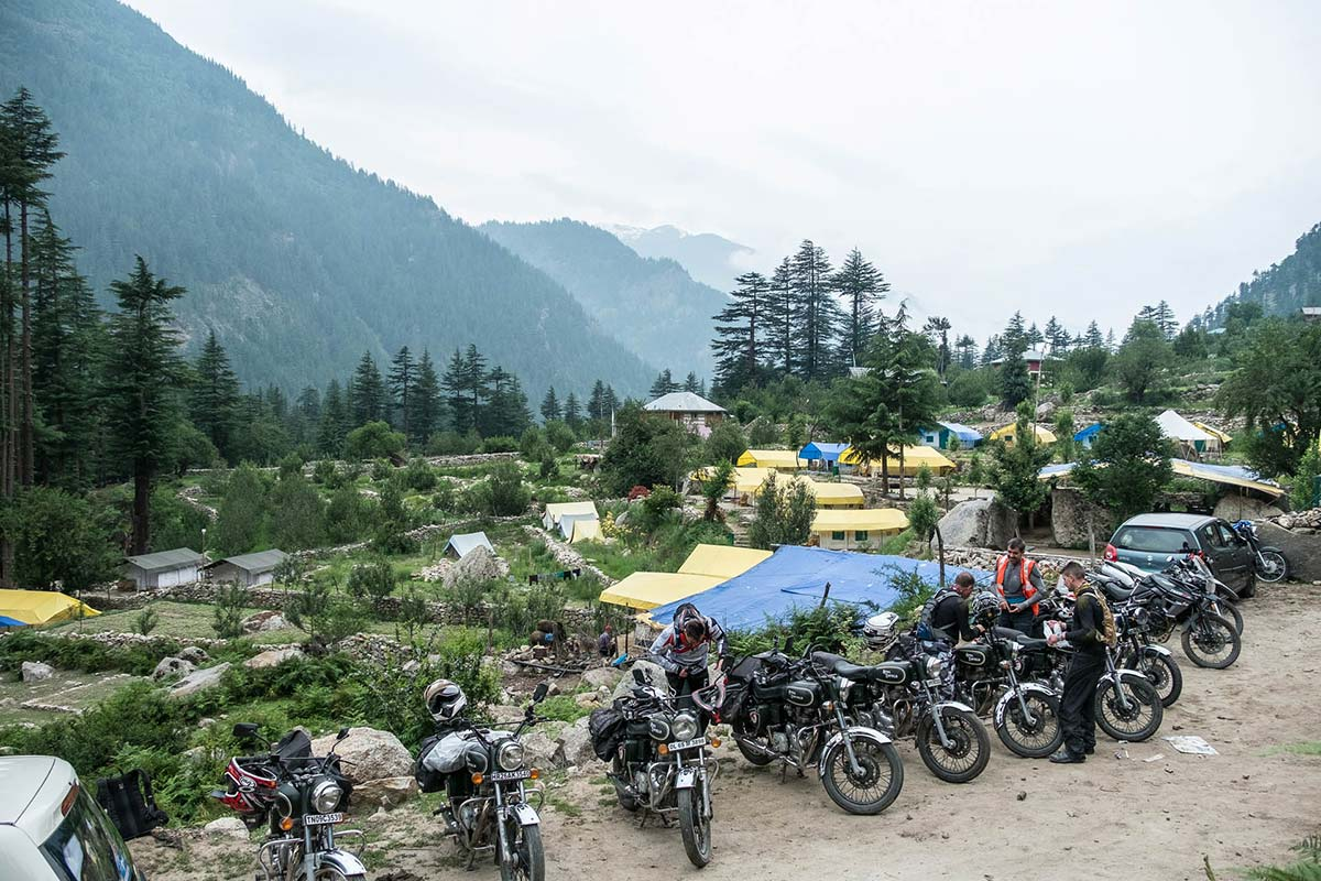 motorcycle trip india