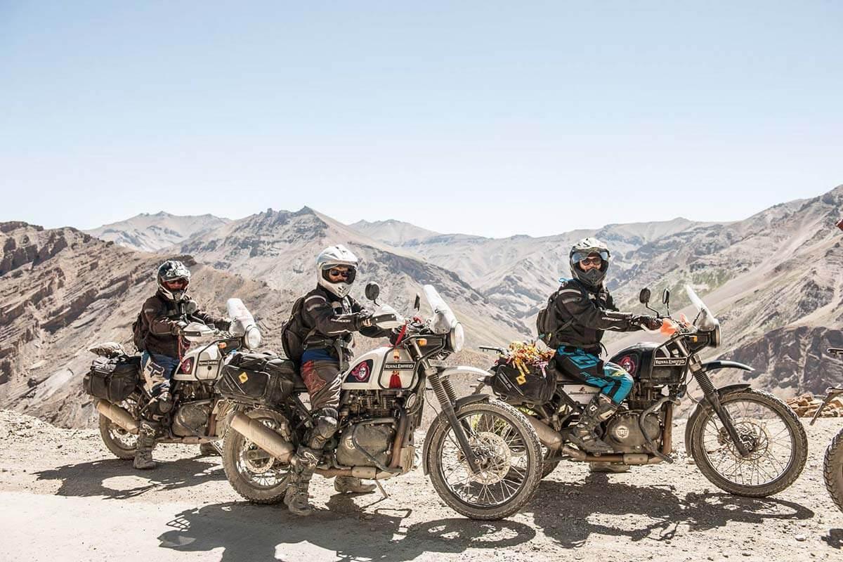 motorcycle trip himalayas