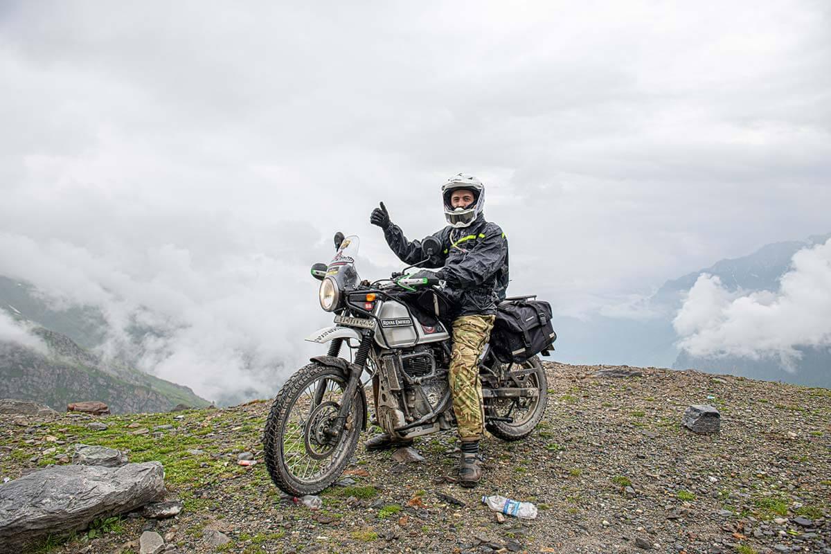 motorbike trip himalayas