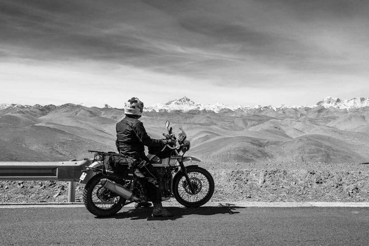 motorbike tour tibet