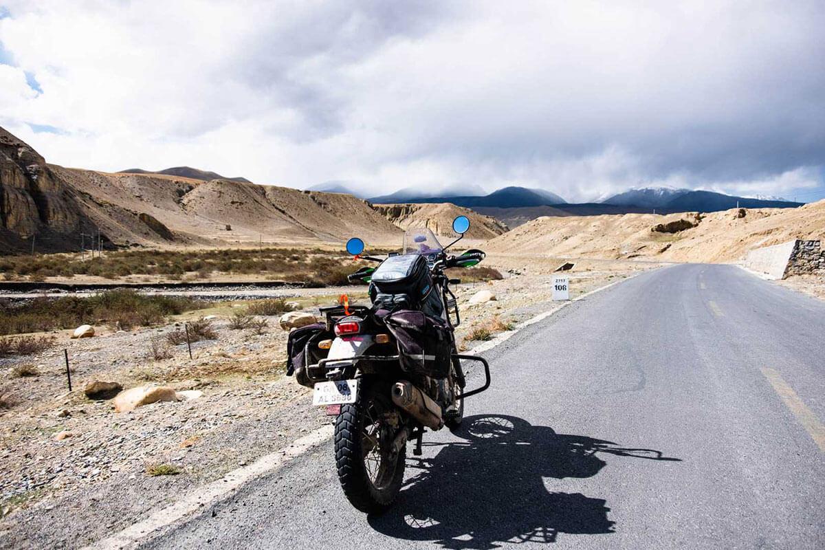 motorcycle trip tibet