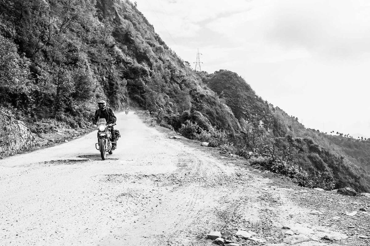 nepal motorcycle tour