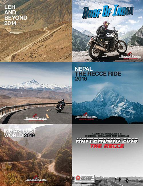 ride book graphic