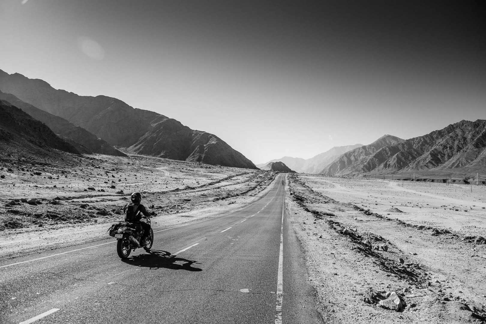 Empty Himalayan road