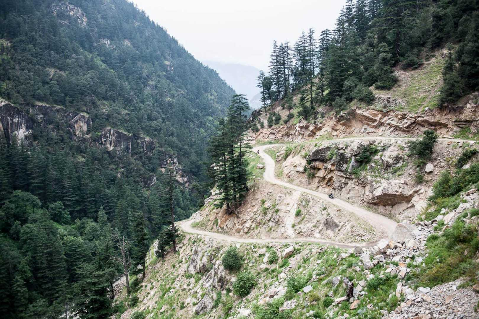 Rocky road through the Himalayas