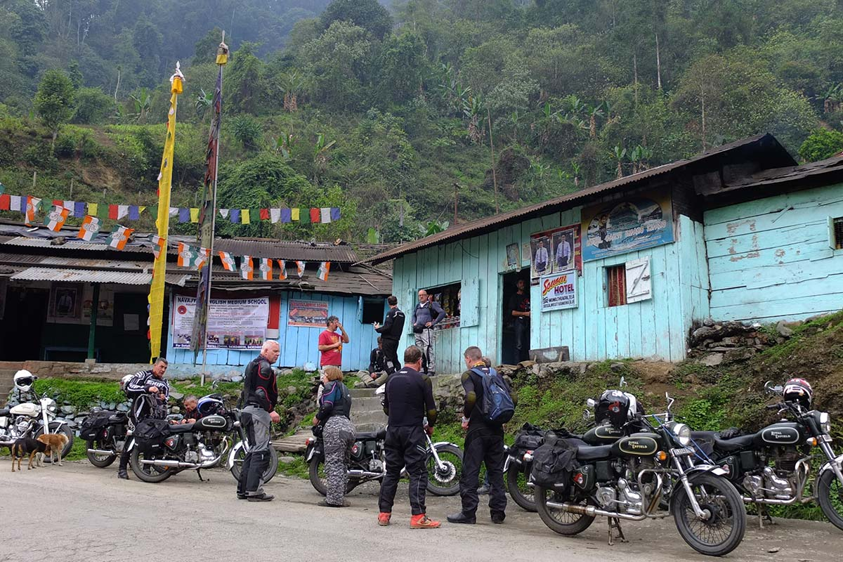 indias lost world motorcycle tour