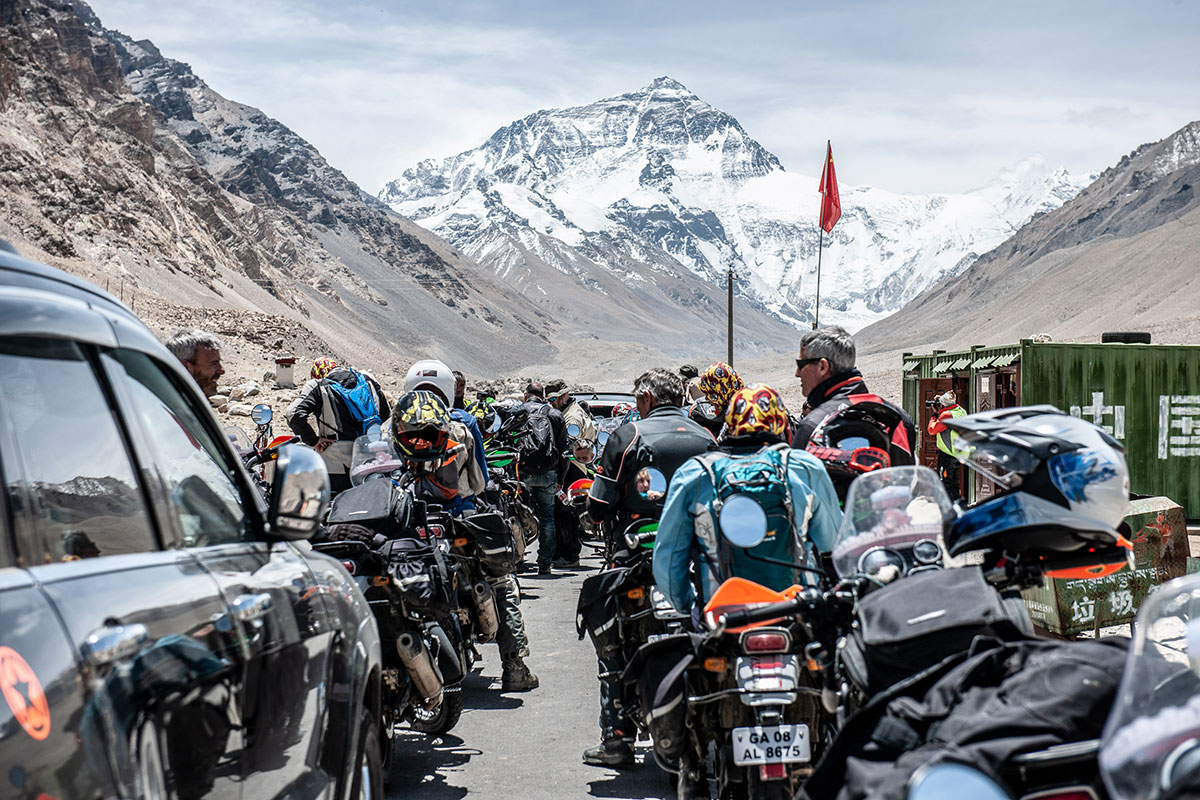 motorcycle tour everest